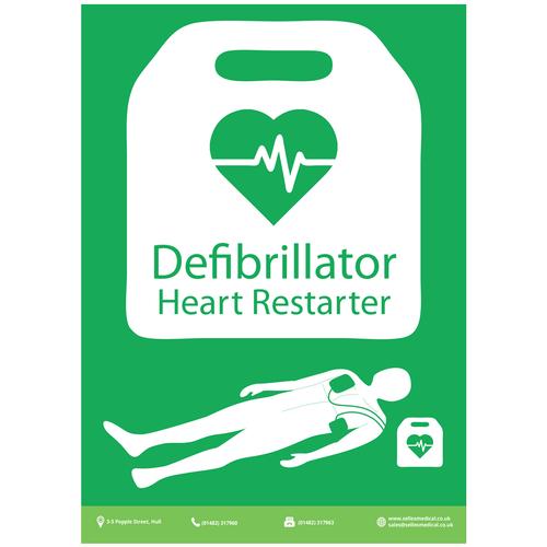 Defibrillator Poster