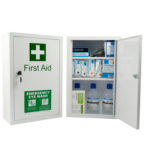 Complete First Aid Cabinet