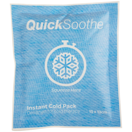 QuickSoothe Instant Cold Pack - Soft Touch