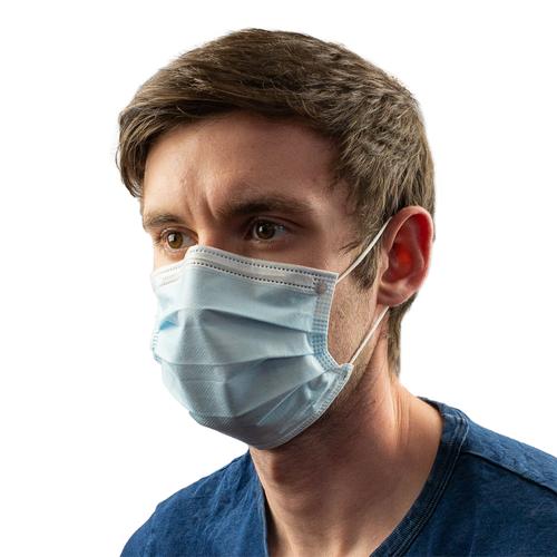 Type IIR Medical Masks (fluid resistant) 3 Ply  x 50
