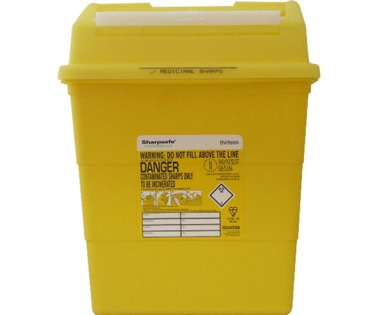 Sharpsafe Disposal Bin (13.0 Litre)