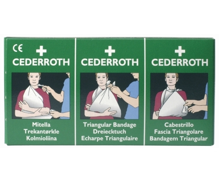 Cederroth Triangular Bandage Pack