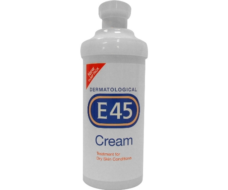 E45 Cream with Pump Dispenser (500g)