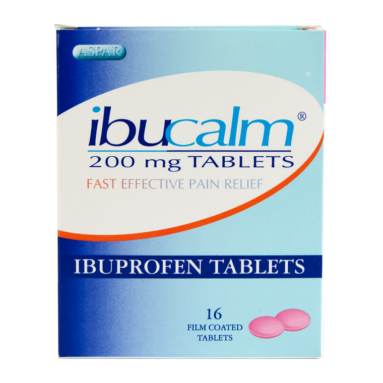 Ibuprofen Tablets 200mg (Pack of 16)
