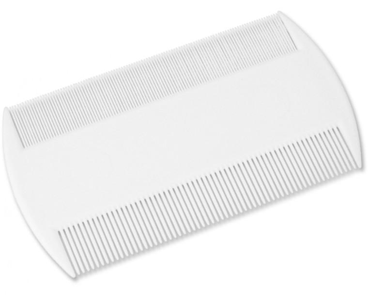 Head Lice & Nit Comb (White)