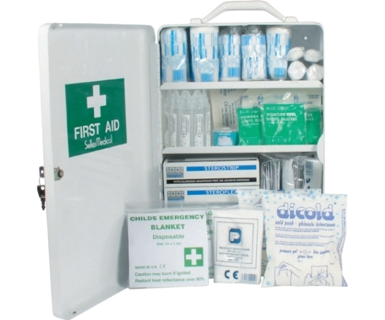 School First Aid Kit Cabinet