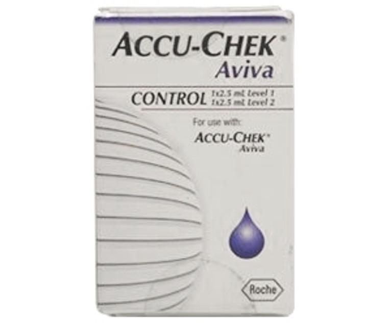 Accu-Chek Aviva Auto Control Solution (2 x 2.25ml)