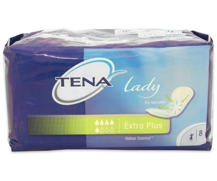 Tena Lady Disposable Pads Extra Plus (Pack of 8)