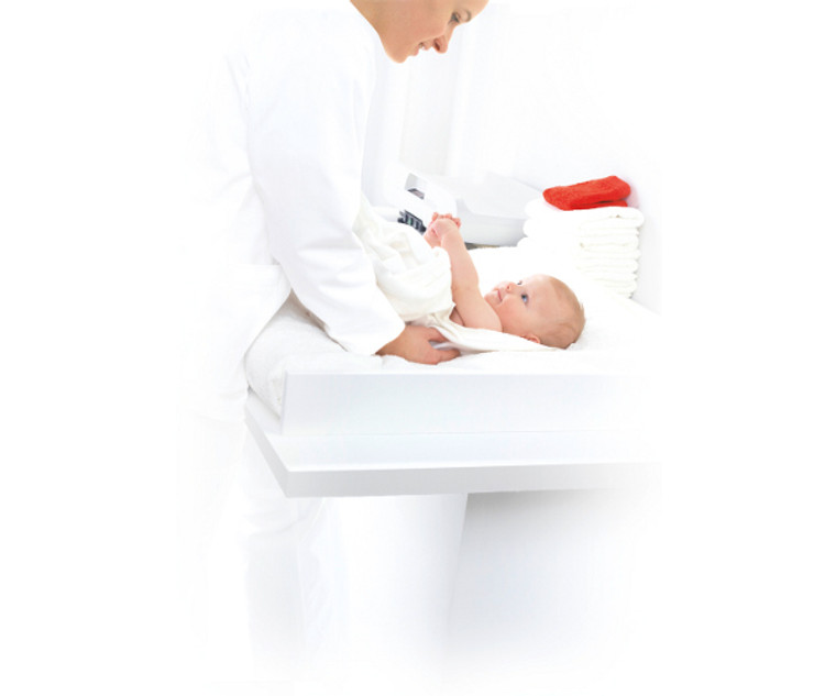 Seca 757 Wireless Baby Scale with Optimized Damping System