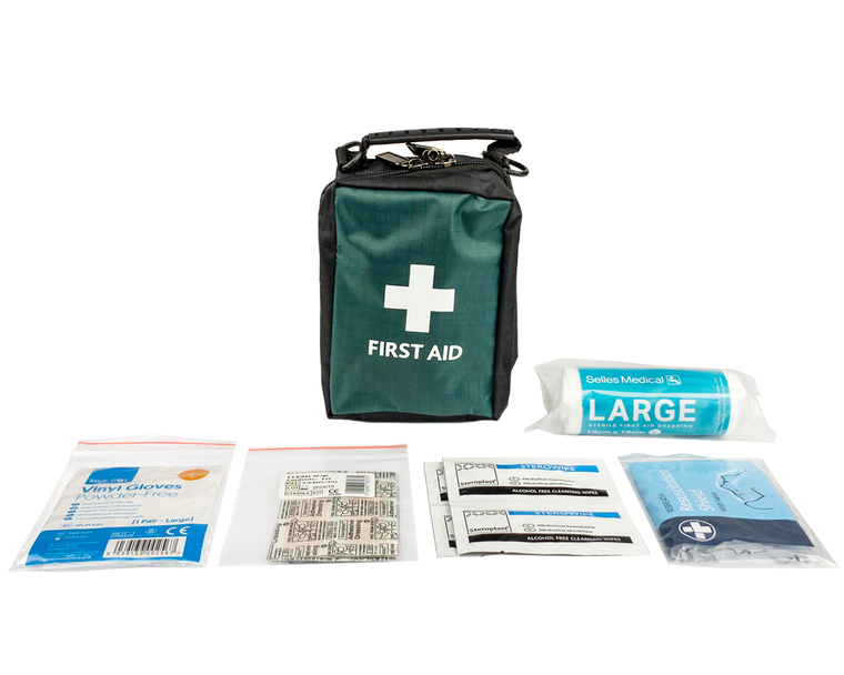 Small Bag with Belt Loop First Aid Kit (10 x 13 x 8cm)