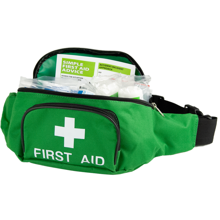 Standard 10 First Aid Kit in a Maxi Belt Bag