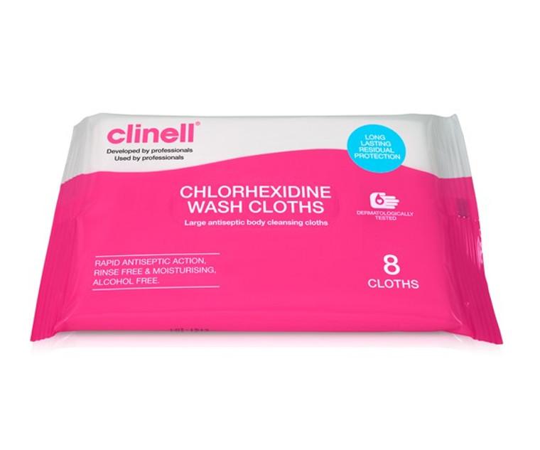 Clinell Chlorhexidine Wash Cloths