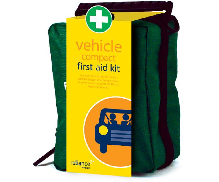 Compact Vehicle Fist Aid Kit