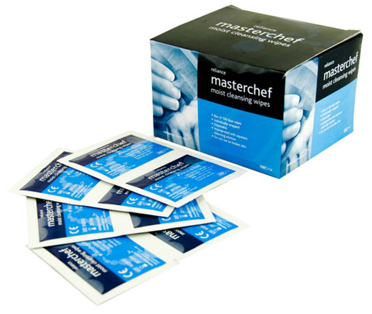 Masterchef Moist Cleaning Wipes (100)