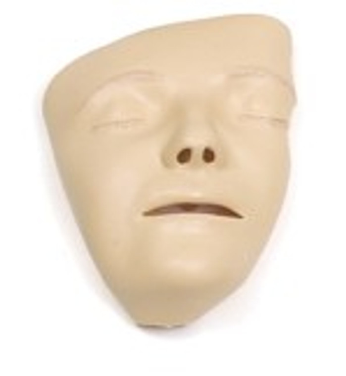 Adult Manikin Faces, Decorated (pack of 6)