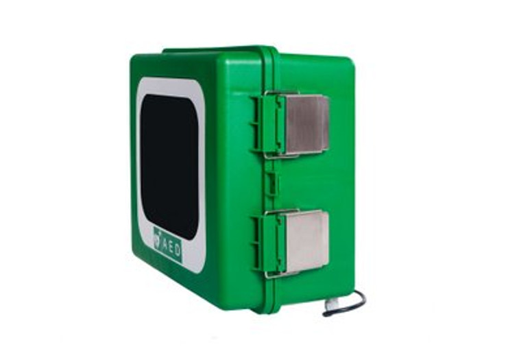 Outdoor AED Cabinet - Alarmed and Heated