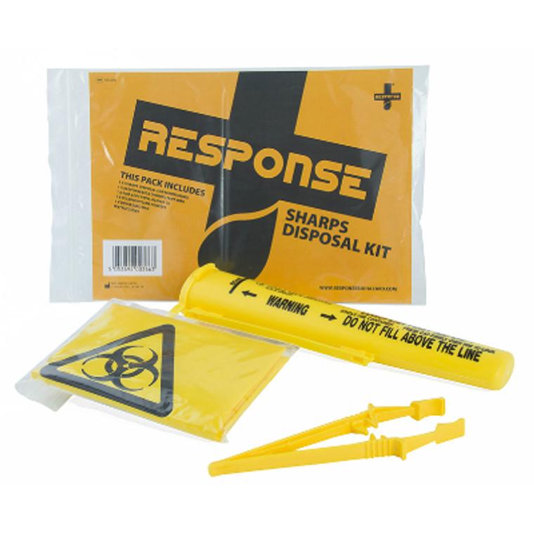 Response Sharps Disposal kit