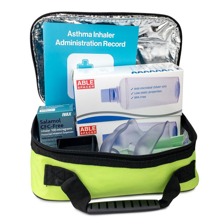 Castleford Emergency Asthma Inhaler Kit in Bag (POM)
