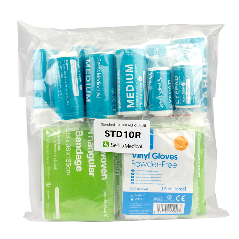 Standard HSE First Aid Kit Refill