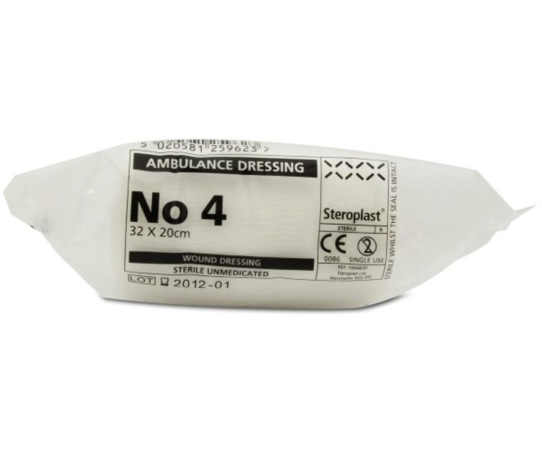 Steroplast Sterile Ambulance Dressing