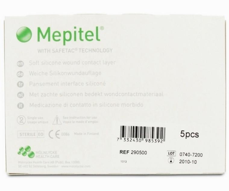Molnlycke Mepitel Soft Silicone Wound Contact Layer