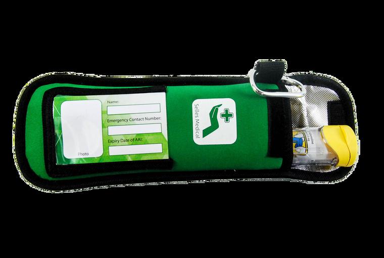 Green Soft Belt Bag for Adrenaline Auto Injectors
