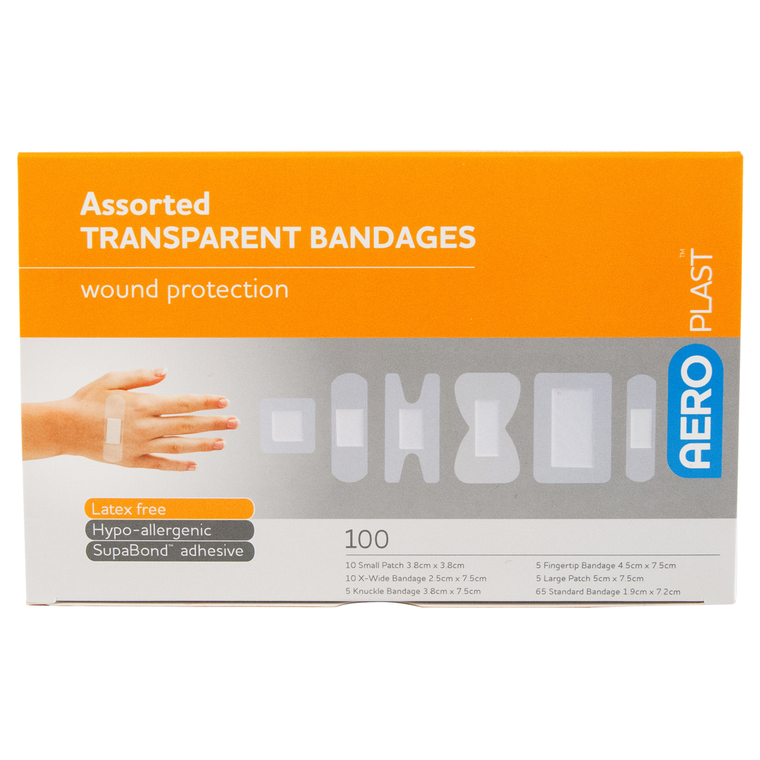 Aeroplast Waterproof Transparent Plasters