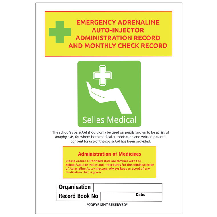Adrenaline Auto-injector Guidance Booklet