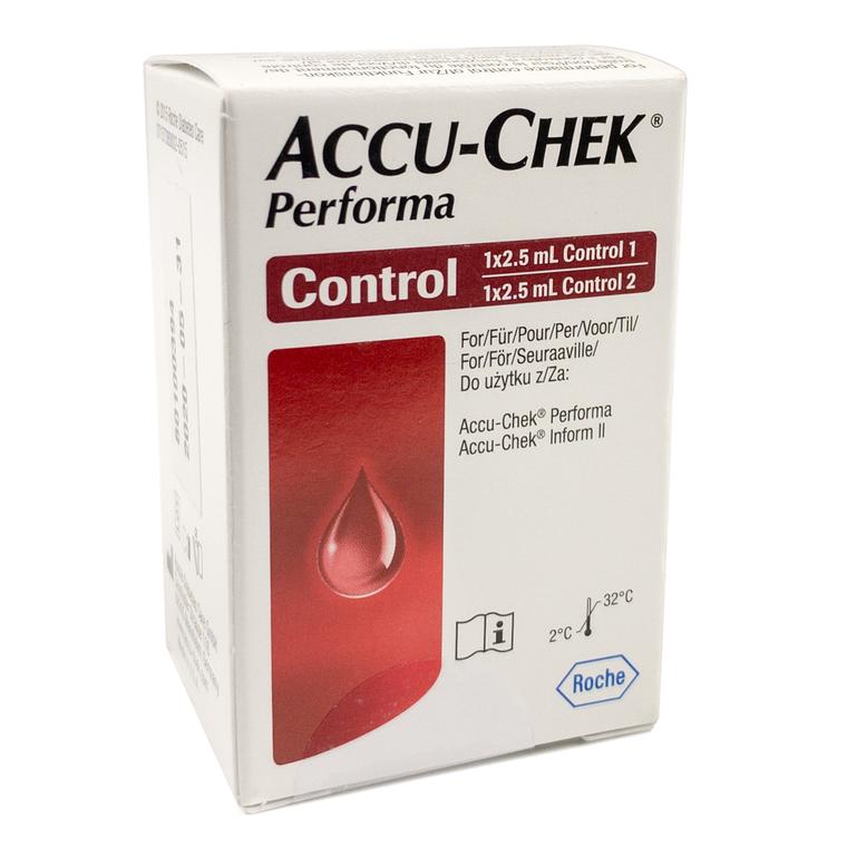 Accu-Chek Performa Control Solution 2 x 2.5ml