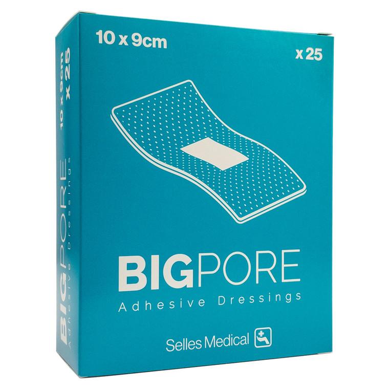 BigPore Adhesive Dressing Pads x25