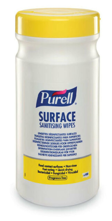 NEW Purell Surface Sanitising Wipes x 200