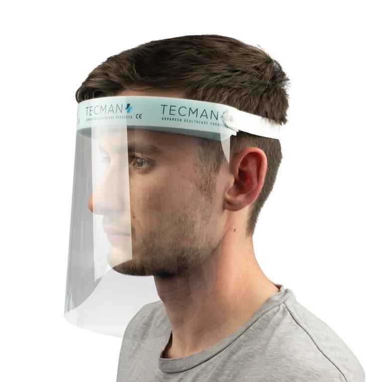 TECMAN Visor with Elasticated Strap - Single