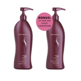 Senscience True Hue Violet Shampoo 1lt BONUS True Hue Violet Conditioner 1lt