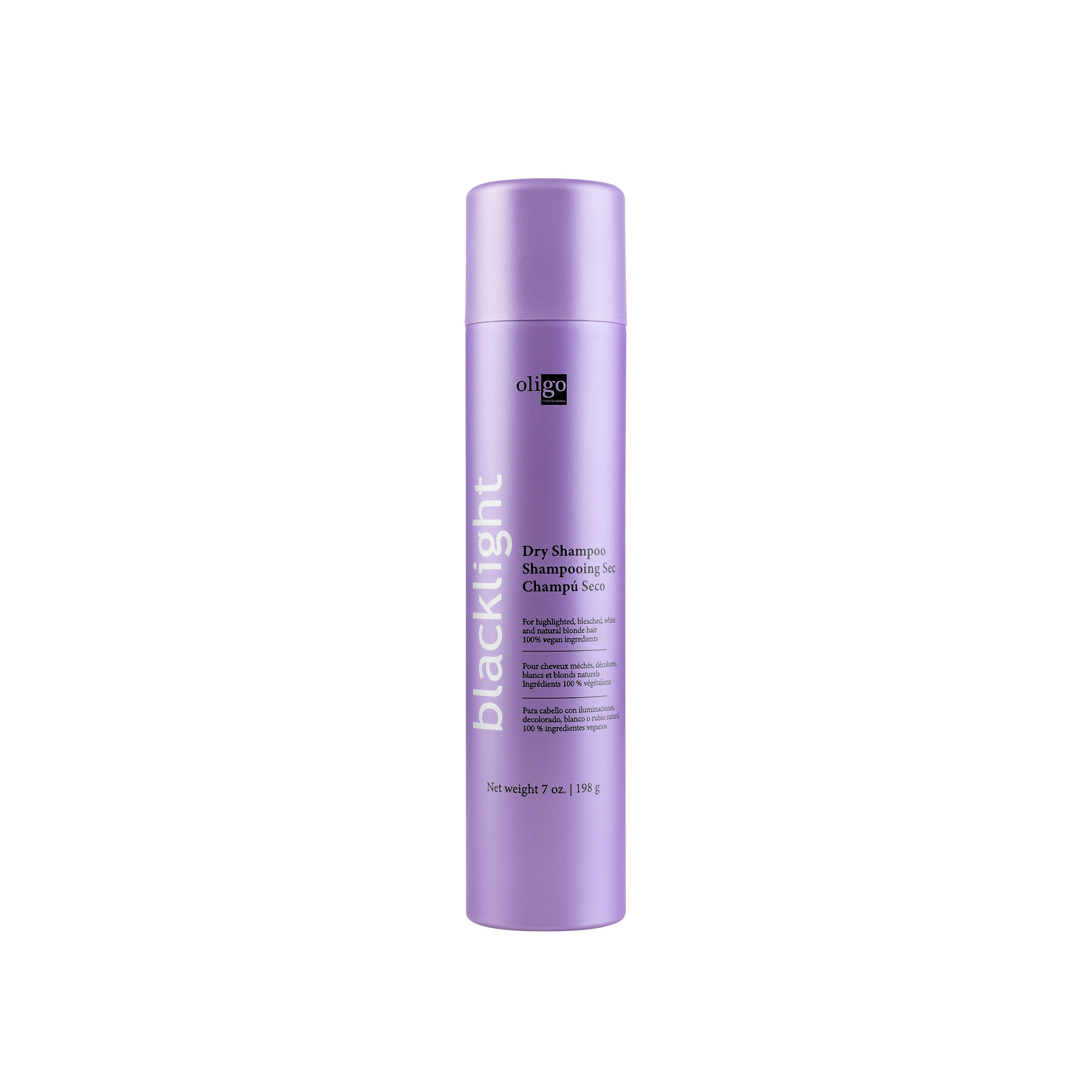 Oligo Pro Blacklight Dry Shampoo by Shop Salon Support - official distributor of Oligo Blacklight Professionnel Professional Hair Products, Hair Lightening System, Blonde Shampoo and Conditioner. Salon Support are Hair & Barber Barbershop Trade Wholesale Hairdressing Supplies Melbourne Australia