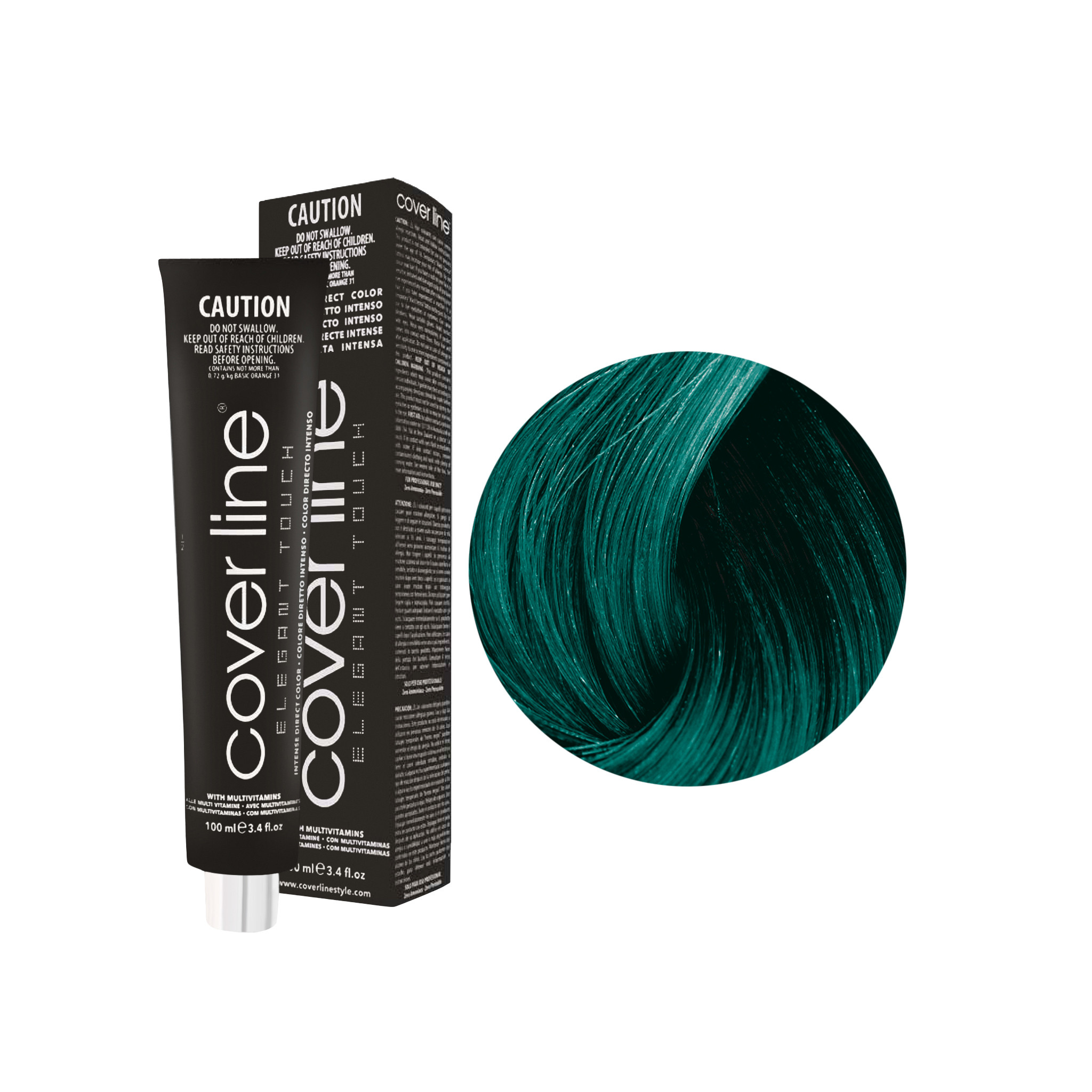 Cover Line Aquamarine Direct Dye by Salon Support Hair & Barber Barbershop Trade Wholesale Hairdressing Supplies Melbourne Australia