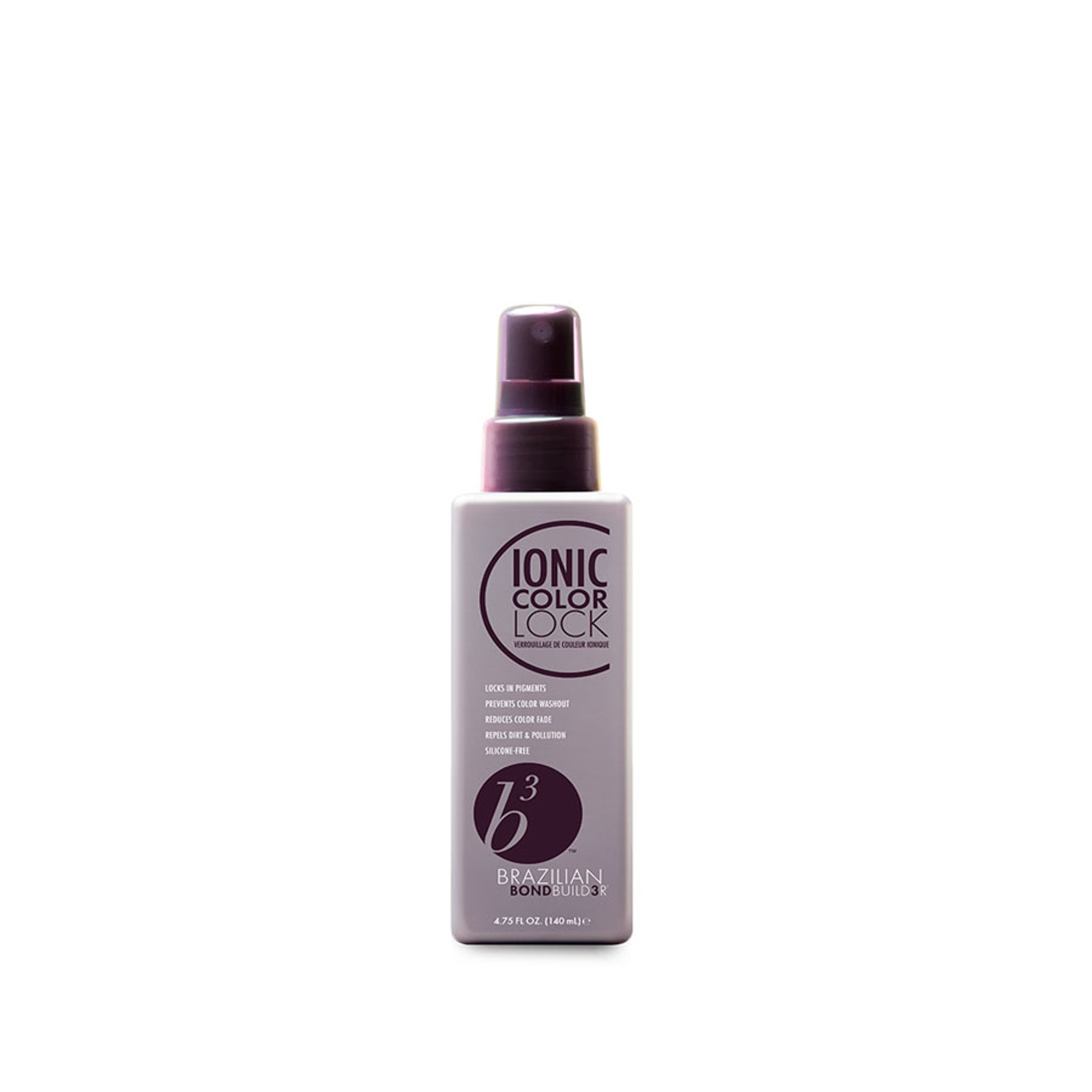 Brazilian Bond Builder Ionic Color Lock locks in week 1 colour and is perfect for all shades, colours and blonde tones. Simply shake & spray Brazilian Bond Builder Ionic Color Lock after every wash to prevent colour fade and adds major shine to hair. Buy from Salon Support - Hair Trade & Salon Wholesale Melbourne Australia.