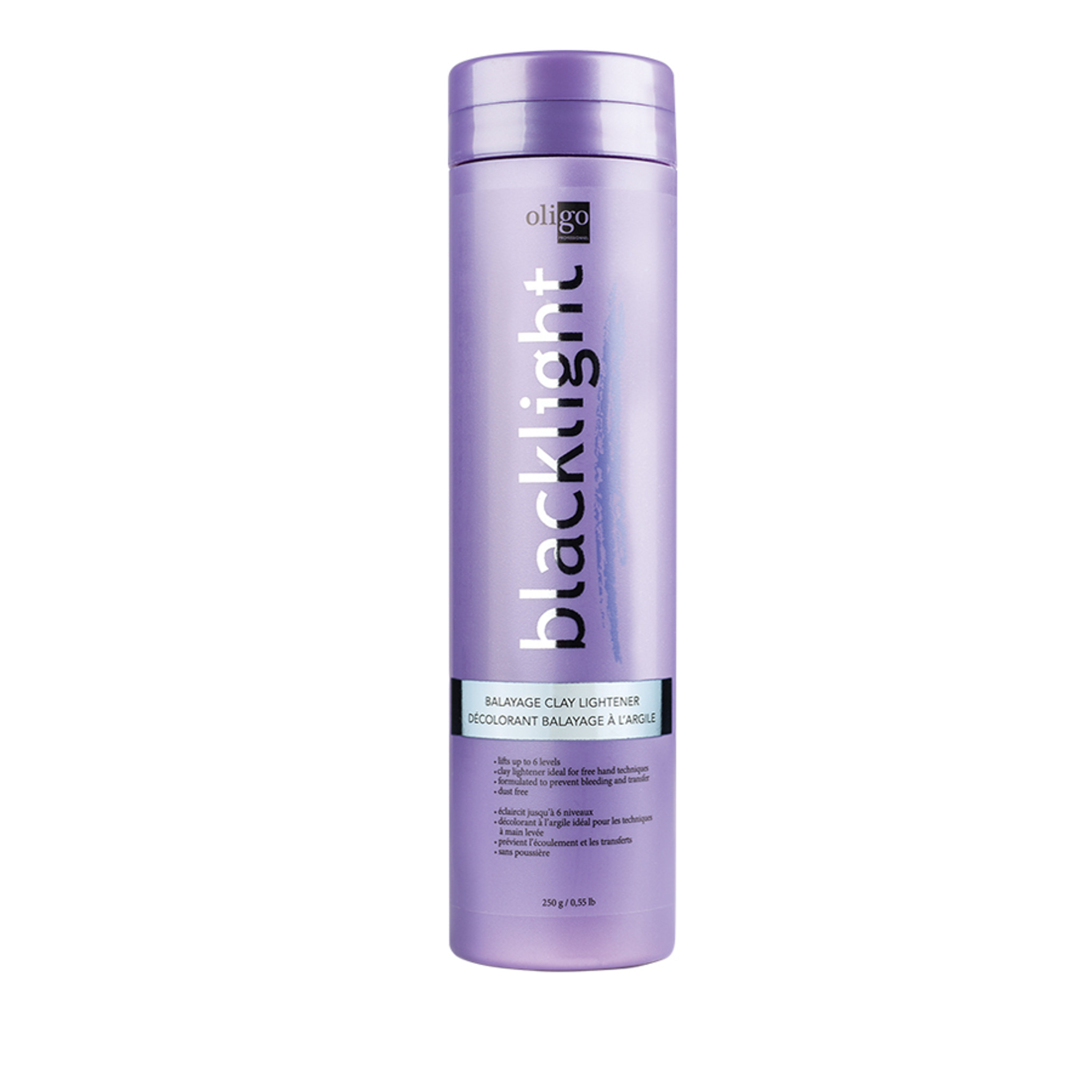 Oligo Pro Blacklight Balayage Clay Lightener 250g by Shop Salon Support - official distributor of Oligo in Australia, Hair & Barber Barbershop Trade Wholesale Hairdressing Supplies Melbourne Australia