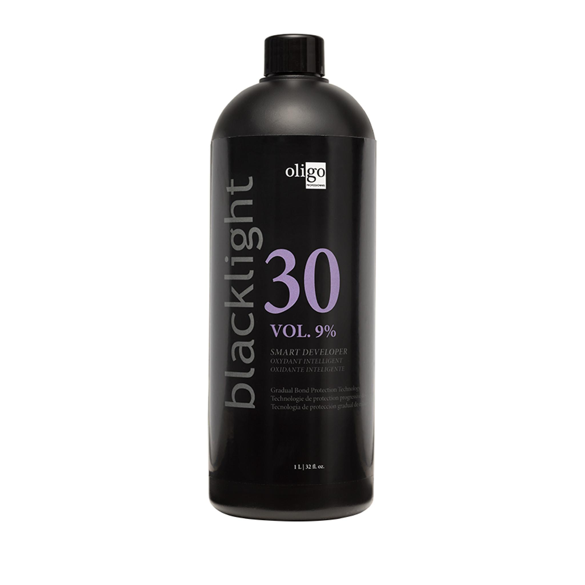 Oligo Pro Blacklight 30 Vol (9%) Smart Developer 1lt by Shop Salon Support - official distributor of Oligo in Australia, Hair & Barber Barbershop Trade Wholesale Hairdressing Supplies Melbourne Australia