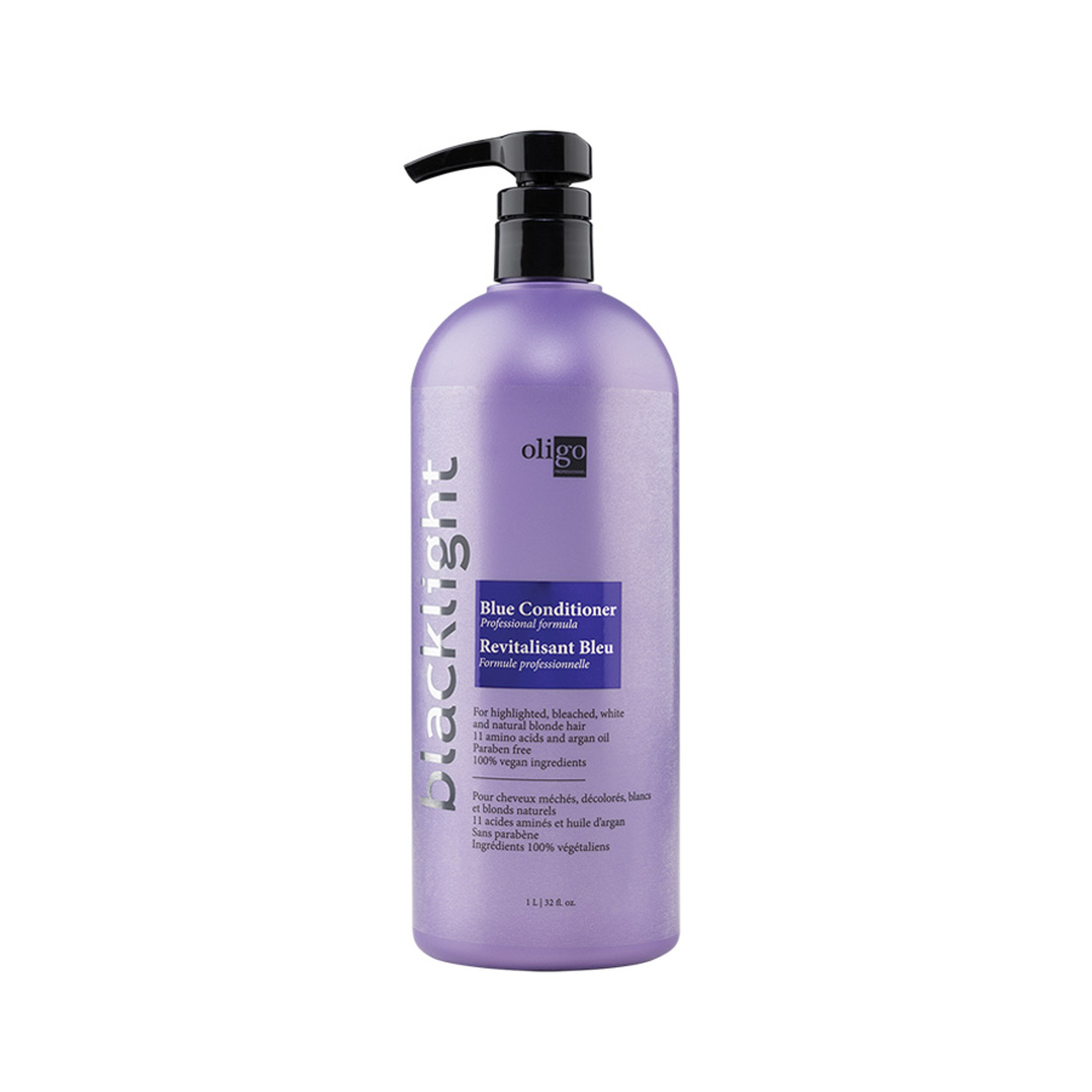 Oligo Pro Blacklight Blue Conditioner - Professional Formula 1lt by Shop Salon Support - official distributor of Oligo in Australia, Hair & Barber Barbershop Trade Wholesale Hairdressing Supplies Melbourne Australia