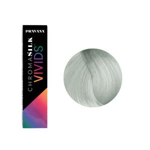 Pravana ChromaSilk  Vivids Smokey Silver 90ml