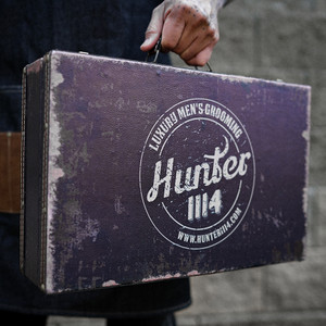 Hunter 1114 Antique Grooming Case by Salon Support Hair & Barber Barbershop Trade Wholesale Hairdressing Supplies Melbourne Australia