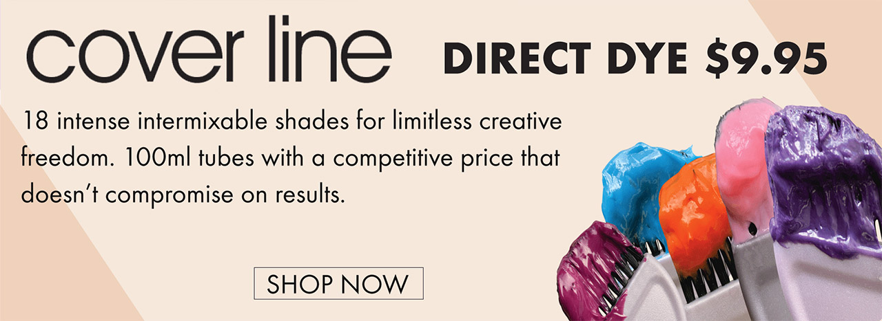 cover line direct dye