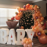 """30"""" tall and 8"""" deep BABY Table Base Foam Letters"""