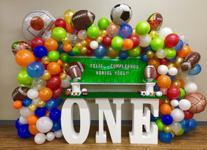 """30"""" tall and 8"""" deep Table Base Foam Letters"""