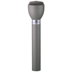 Electro-Voice 635A  Dynamic Omnidirectional Interview Microphone, Fawn Beige