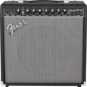 "Fender Champion 40  40W 2-Channel 1X12"" Solid-Stage Guitar Combo Amplifier"