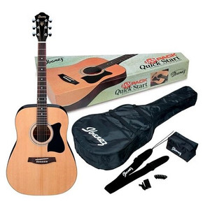 IBANEZ IJL30 QUICK START JAM PACK ACOUSTIC GUITAR