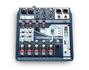 Soundcraft Notepad8FX  8-Channel Compact Analog Mixer with USB and Lexicon Effects