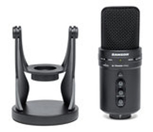 Samson G-Track Pro  Professional USB Condenser Microphone with Audio Recording Interface