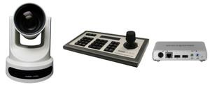 PTZOptics PT20X-USB-G2, PT-JOY-G3 IP Joystick, Matrox Monarch HD Encoder-single camera system